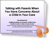 Training PowerPoint slides for Talking with Parents