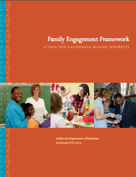 Cover of the Family Engagement Framework tool