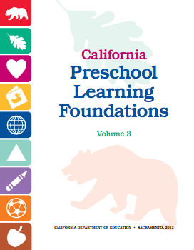 Cover of the California Preschool Learning Foundations Volume 3