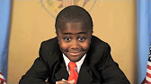 Kid President speaking to camera