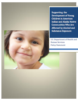 Cover image of the policy statement on American Indian and Alaska Native children