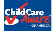 Logo that reads Child Care Aware of America
