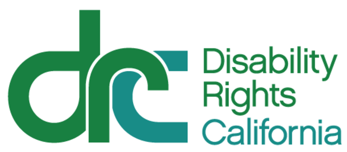 Logo that reads Disability Rights California