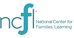 Logo of the words National Center for Families Learning