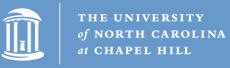 Logo that reads The University of North Carolina at Chapel Hill