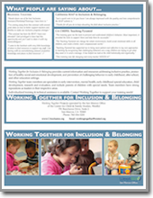 Working Together Brochure