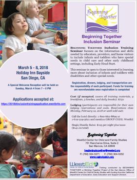 Image of Beginning Together Seminar Application flyer