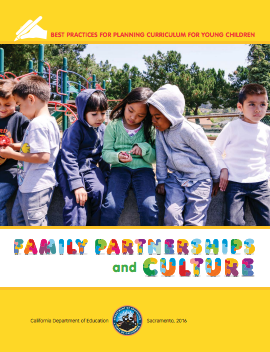 Cover of the Family Partnerships and Culture guide
