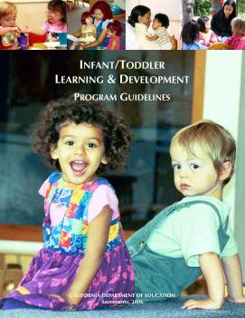 Cover of the Infant/Toddler Learning & Development Program Guidelines