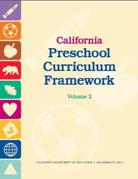 Cover of the California Preschool Curriculum Framework Volume 2