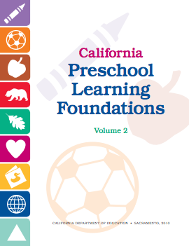 Cover of the California Preschool Learning Foundations Volume 2