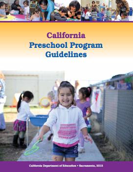 Cover image of the California Preschool Program Guidelines