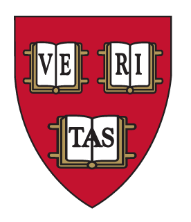 Red shield that reads VERITAS