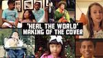 Multiple images of diverse children singing