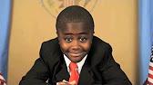 Kid President speaking to camera