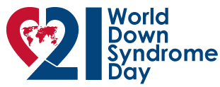 Logo for World Down Syndrome Day
