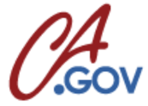 Logo that reads CA.gov