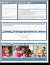 Working Together Brochure